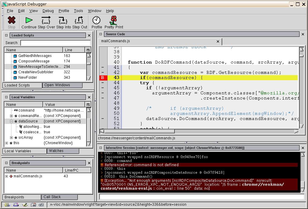 firefox xpcom error windows 7